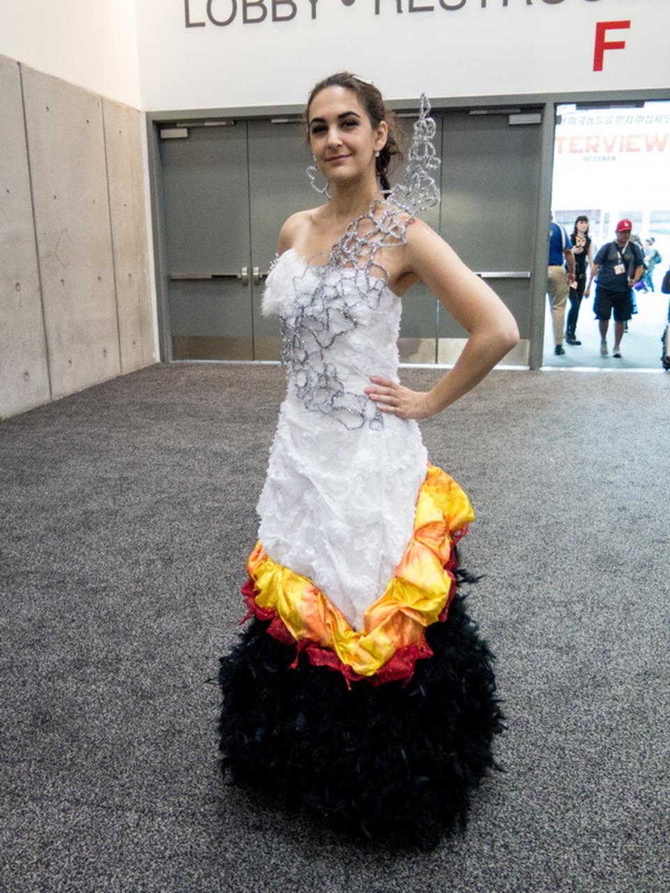 Katniss Mockingjay Dress Costume The Designer Behind The Wild