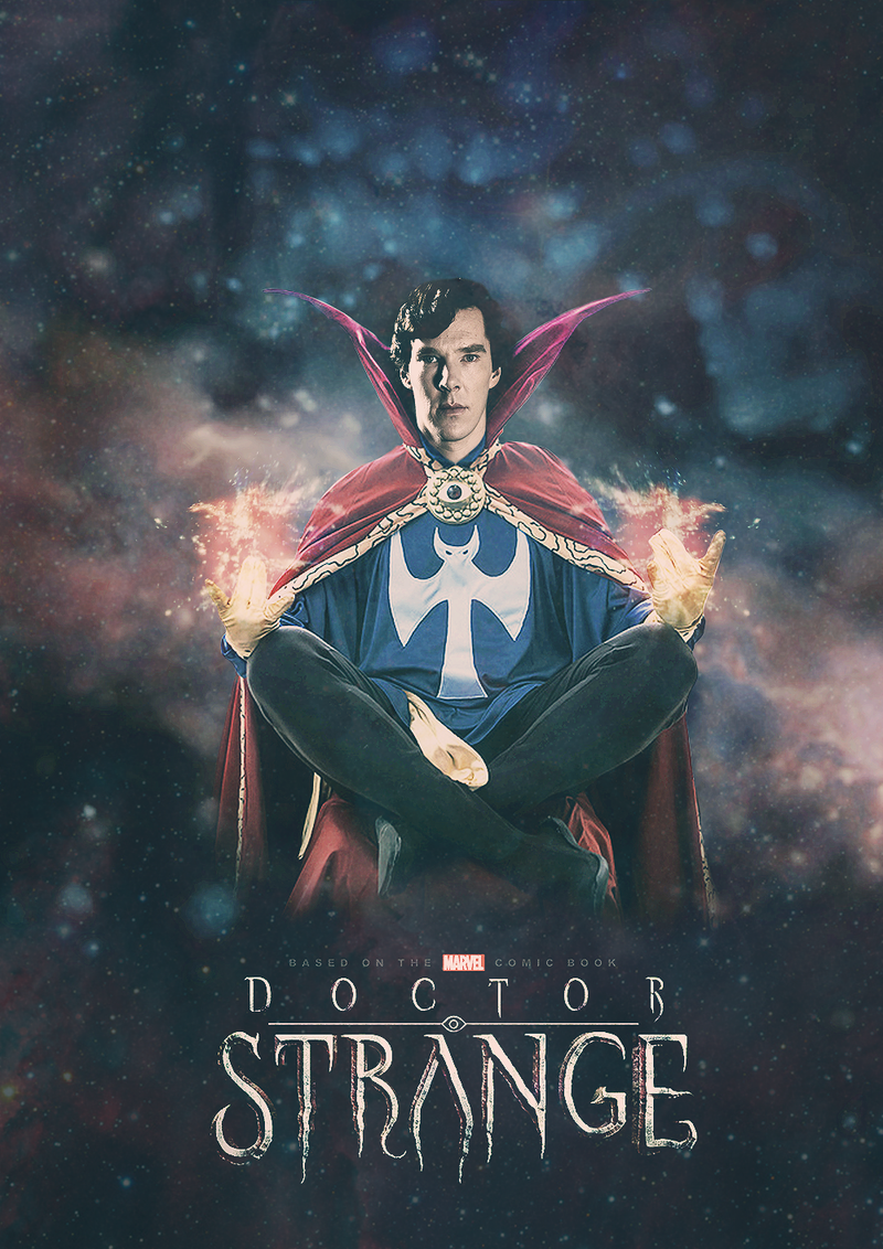 doctor strange to be played by benedict cumberbatch