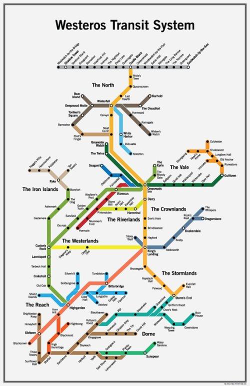 westeros tube map